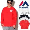 MAJESTIC マジェスティック トレーナー メンズ NYロゴ ストリート系 ヒップホップ ファッション 服 通販 MM05-N8F04 MSPT011