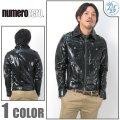 NUMERO ZERO/ヌメロゼロ/レザージャケット/008LT22/B系/ヒップホップファッションnuj004