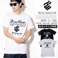 ROCAWEAR ロカウェア 半袖Tシャツ メンズ 大きいサイズ hiphop ヒップホップ b系 ファッション 通販 RWTS001 RWTT399