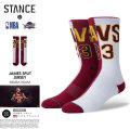 STANCE SOCKS スタンスソックス 靴下 クリーブランド キャバリアーズ Cleveland Cavaliers 通販 SAAT050