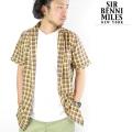 SIR BENNI MILES サーベニマイルス 半袖シャツ 12-03018 ストリート B系ファッション メンズ