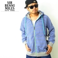 SIRBENNIMILES(サーベニマイルス)パーカー/ブルー/sip010 b系 ストリート系 ファッション 服 通販 激安 セール SALE