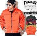 THRASHER スラッシャー 中綿ジャケット メンズ 大きいサイズ スケーター ストリート系 スケーター ファッション TH5151 服 通販