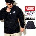 VANS バンズ コーチジャケット ナイロン メンズ スケーター ストリート系 ファッション 通販 VN0002MUKSY VNJT003