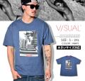 VISUAL (ビジュアル) 半袖Tシャツ メンズ STEPS VSTT012