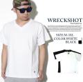 WRECKSHOT レックショット 半袖Tシャツ wrs131 B系 B系ファッション