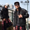 スタジャン メンズ ジャケット ドンキー襟 ヒップホップ B系 ストリート系 ファッション wrs238
