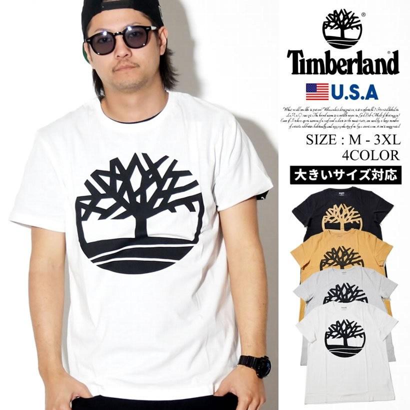 Timberland ティンバーランド 半袖 Tシャツ メンズ 大きいサイズ ロゴ Core Logo Tee ストリート系 カジュアル ファッション TB0A1N8Y 服 通販