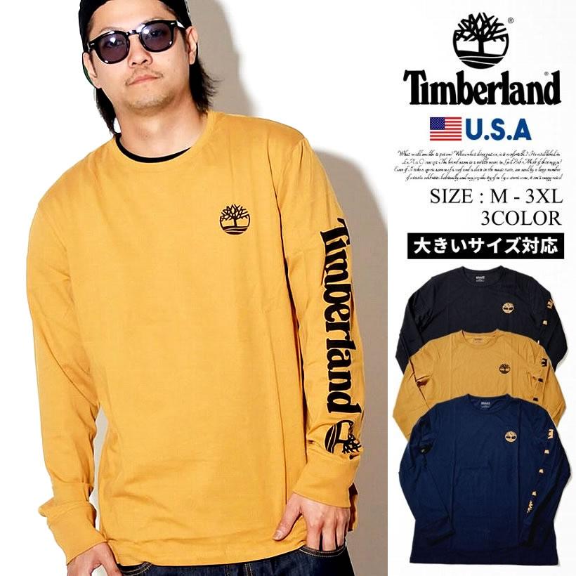 Timberland ティンバーランド ロング 長袖 Tシャツ メンズ 大きいサイズ ロゴ LS YCC TEE ストリート系 カジュアル ファッション TB0A1OHM 服 通販