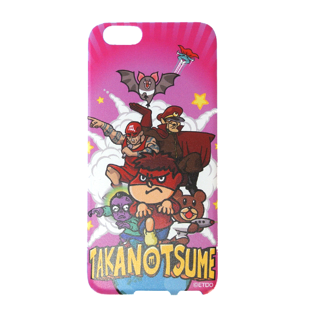 鷹の爪DO iPhone6ケース ピンク