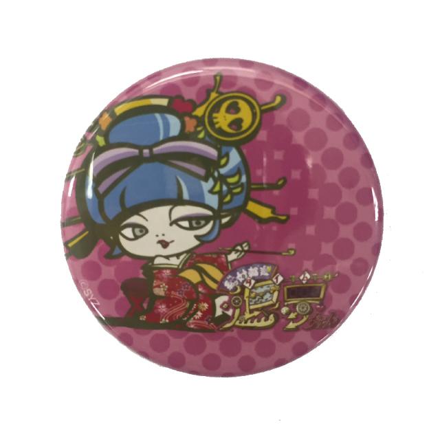 絶対輪廻退夢ちゃん 缶バッジ(ピンク)