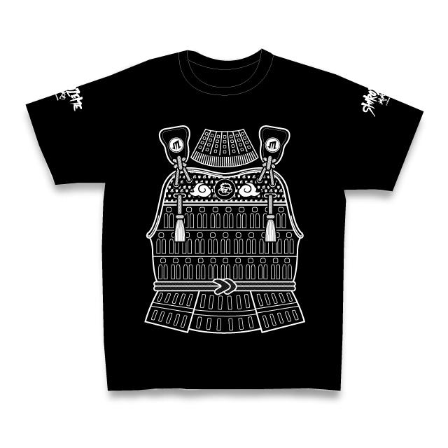 SHIROZEME甲冑Tシャツ/BLACK