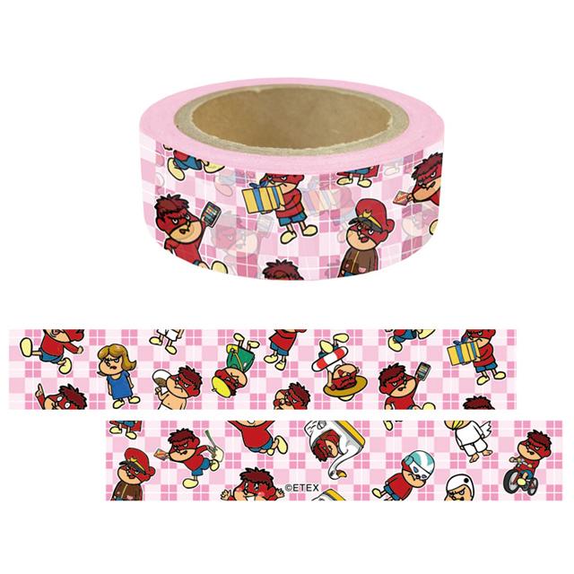 鷹の爪 マスキングテープ(ピンク)