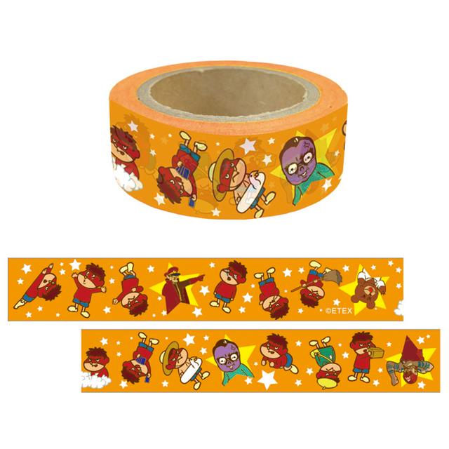 鷹の爪 マスキングテープ(オレンジ)