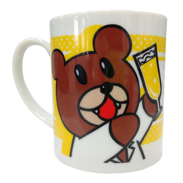 鷹の爪 乾杯マグカップ(レオナルド博士)