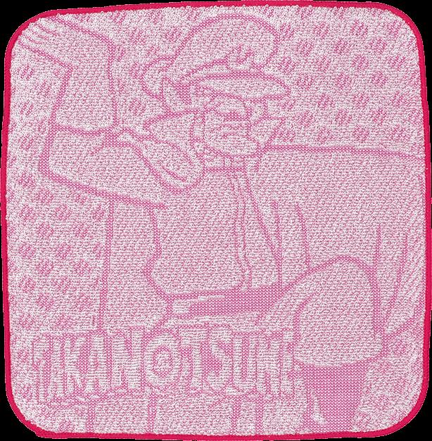 鷹の爪DO ミニタオル(総統)