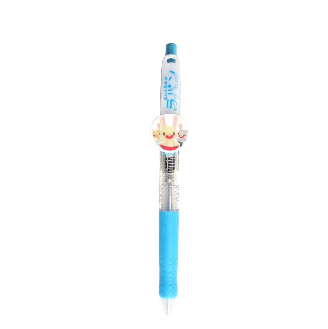 ぬいぐるみのラパン クリップボールペン(ブルー)
