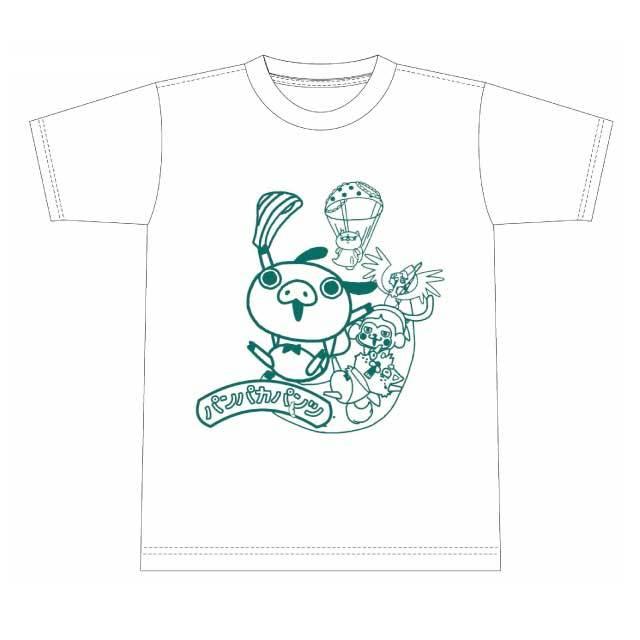 パンパカパンツ Tシャツ(バナナ)白