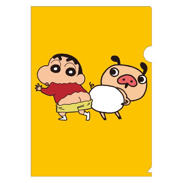 クレヨンしんちゃん×パンパカパンツ クリアファイル