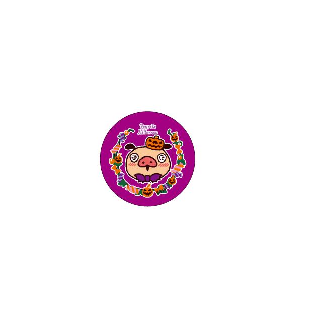 パンパカパンツ 缶バッジ(ハロウィン アップ)