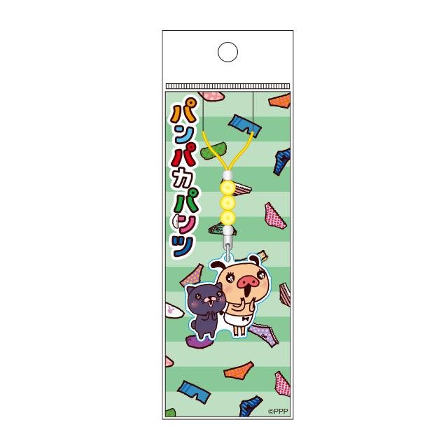 パンパカパンツ LINE柄アクリルストラップ/B