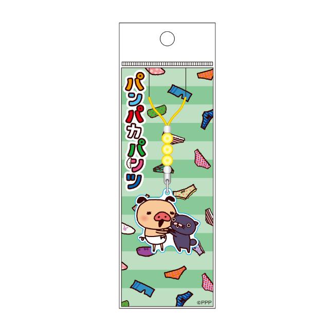 パンパカパンツ LINE柄アクリルストラップ/C