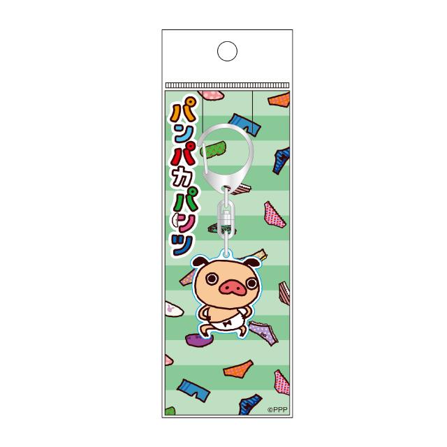 パンパカパンツ LINE柄アクリルキーホルダー/A