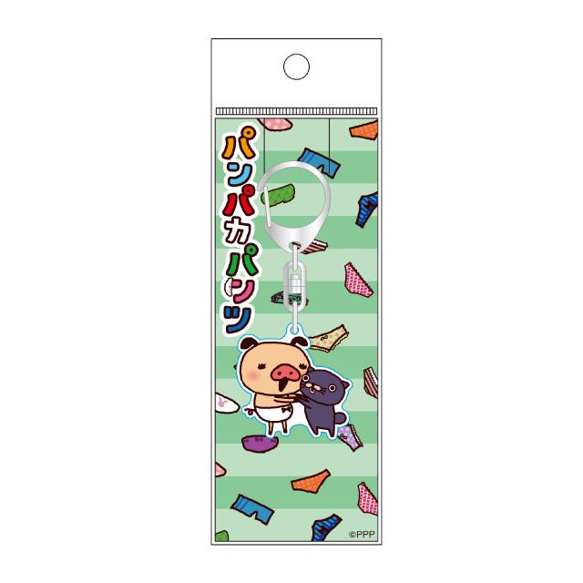 パンパカパンツ LINE柄アクリルキーホルダー/C