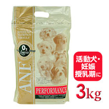 【★安心安全なプレミアムフード★】 ANF パフォーマンス 3kg