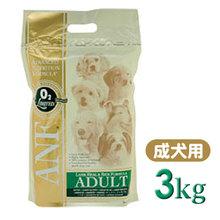 【★愛犬のためにプレミアムフードをどうぞ★】 ANF アダルト ラム&ライス 3kg