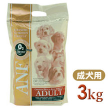 【★大切な愛犬に!!プレミアムフードはいかがですか!!★】 ANF アダルト チキン&ライス 3kg