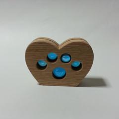 【★職人さんの手作り★】 天然木使用 木製フォトスタンド