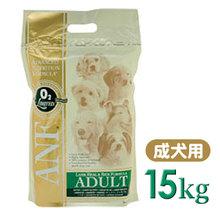 【♪愛犬のためにプレミアムフード♪】 ANF アダルト ラム&ライス 15kg