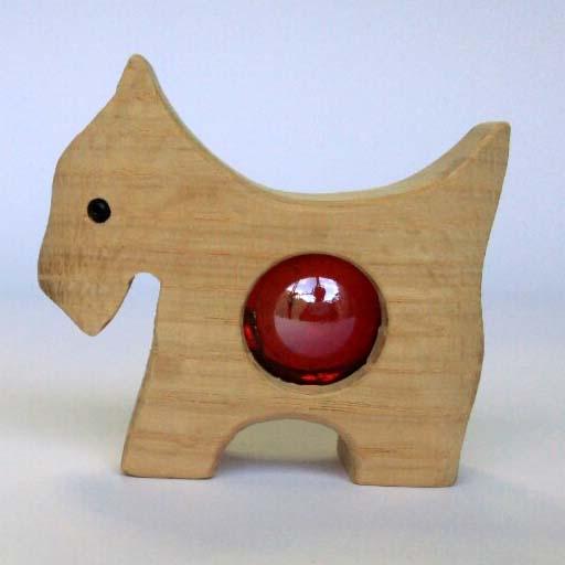 【★職人さん手作り★】 犬型置き飾り