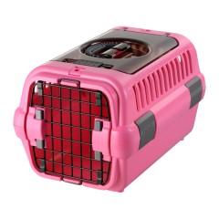 キャンピングキャリー ダブルドア Sサイズ ピンク