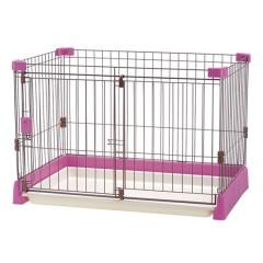 ペット用お掃除簡単サークル ピンク
