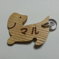 犬のプレミアムフードの通販DOG LIFE PLUS が販売する、木製IDタグについてのご紹介です