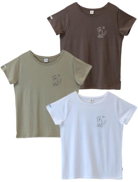 【WOMEN】SWEATRESSFREE ワンワン!ドッグTシャツ
