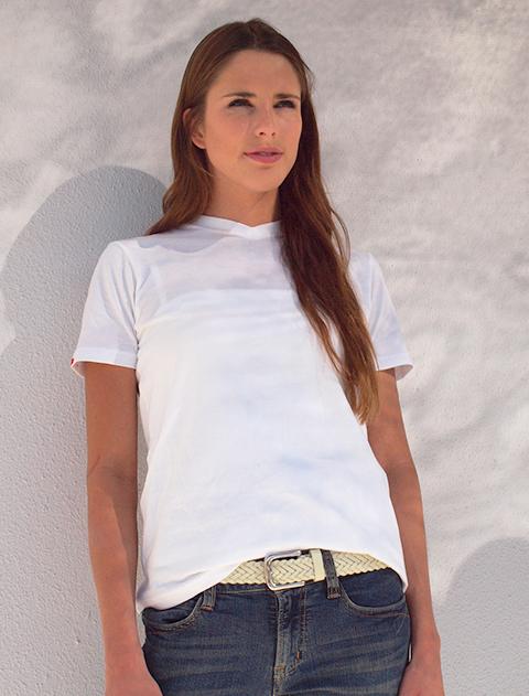 【WOMEN】インナーVネックTシャツ2枚セット