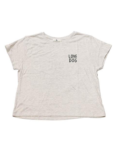 【WOMEN】LOVE DOG Tシャツ