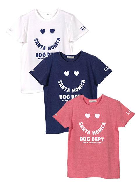 【WOMEN】ハートスマイル Tシャツ