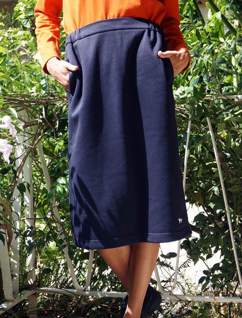 【WOMEN】T/Cボンディング スカート