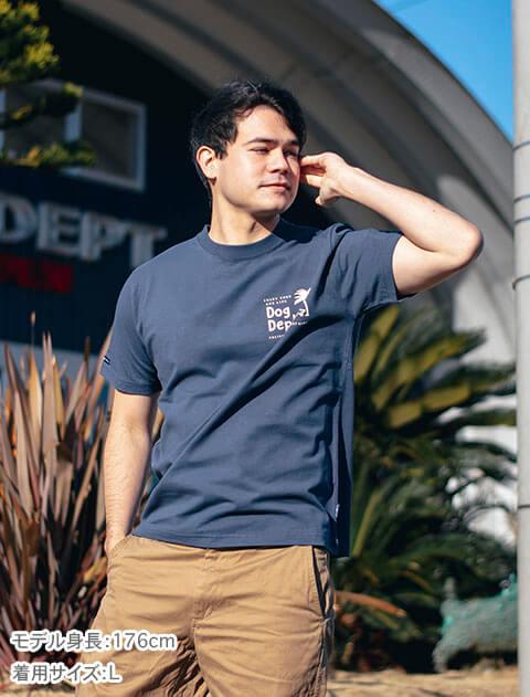【UNISEX】 SUNSET DOGTシャツ