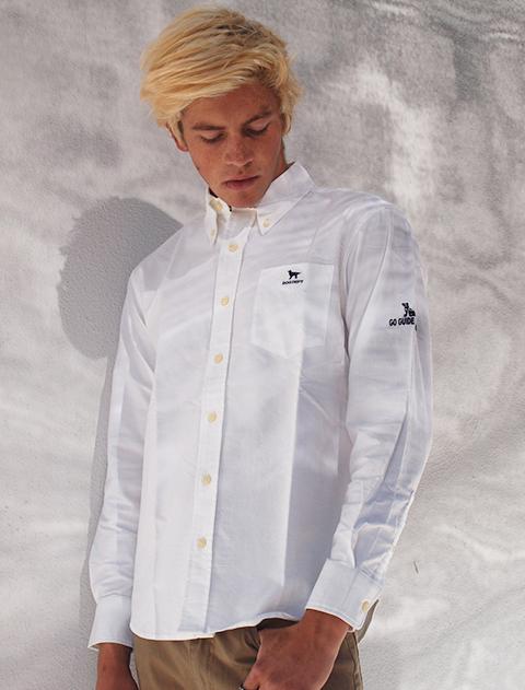 【UNISEX】ガイドドッグオックスB/Dシャツ