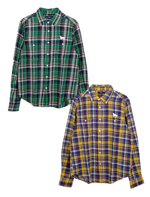 《期間限定アウトレット》【UNISEX】チェックレギュラーシャツ