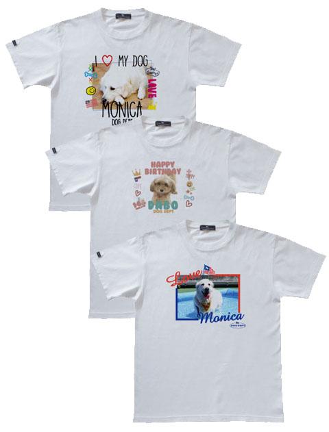 【UNISEX】MY DOG フォトプリントTシャツ