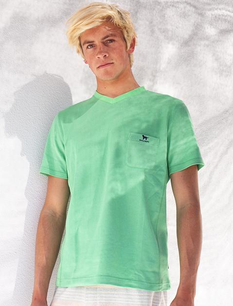 《期間限定アウトレット》【UNISEX】バーズアイポケットTシャツ