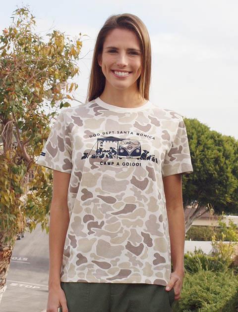 【UNISEX】キャンプTシャツ