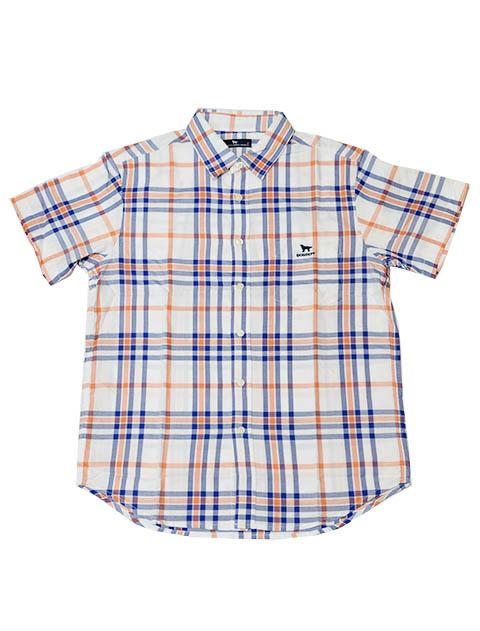 【UNISEX】オックスチェックシャツ