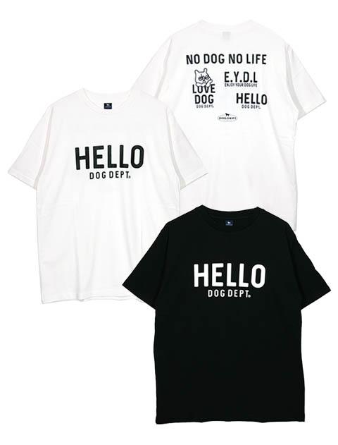 《2点以上でさらに10%OFF対象》【UNISEX】HELLO Tシャツ